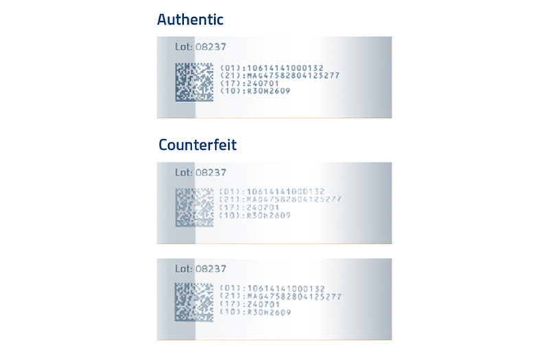 Counterfeiting, Authentication