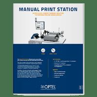 Manual Print Station Datasheet