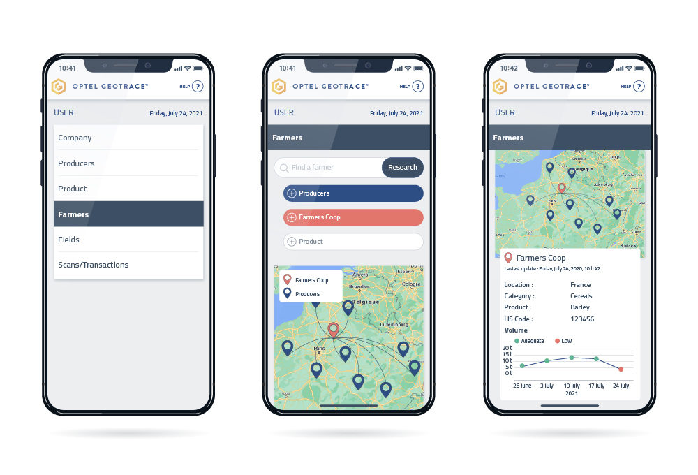 Software_GeoTraceability Platform_Mobile
